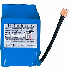Аккумулятор для гироскутера с элементами LG