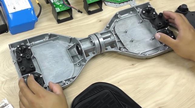 замена рамы на гироскутере